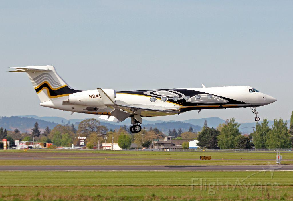 Gulfstream Aerospace Gulfstream V (N6453) - HIO based Nike Air! GV