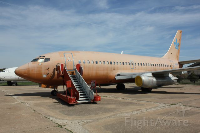 Boeing 737-200 (F29SW) - At the Kansas Air Museum in Wichita.
