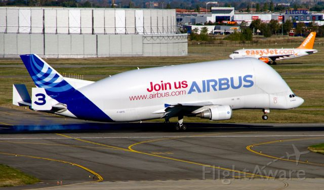 Airbus A300F4-200 (F-GSTC) - Airbus A300B4-608ST Super Transporter