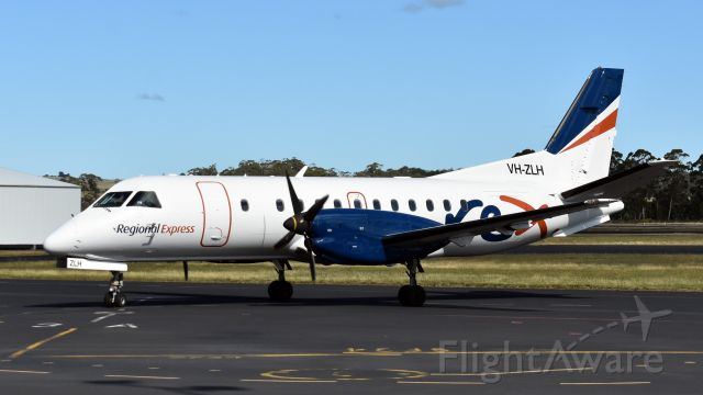 Saab 340 (VH-ZLH) - Regional Express SAAB 340B VH-ZLH (cn 376) at Wynyard Airport Tasmania Australia. 29 February 2020.