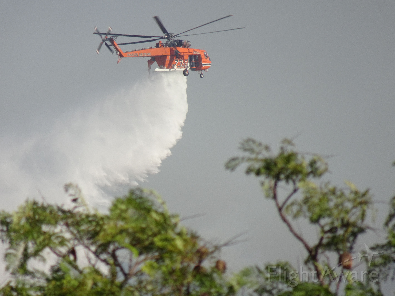 Sikorsky CH-54 Tarhe (N164AC) - Easy Fire - 30 Oct 19