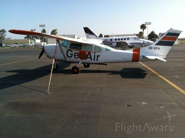 Cessna 206 Stationair (XB-GPA)