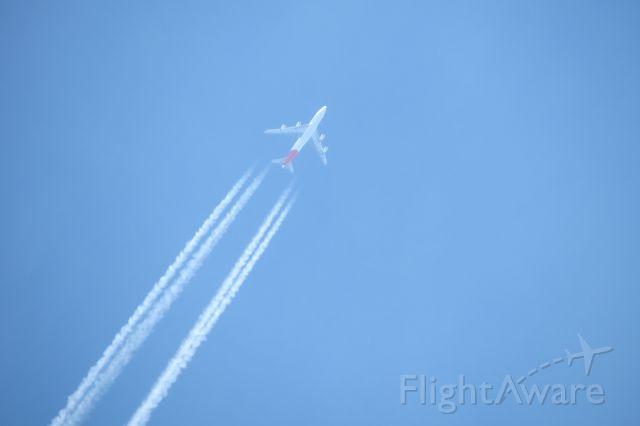 VH-OEH — - Qantas 7 enroute KDFW at 40,000.