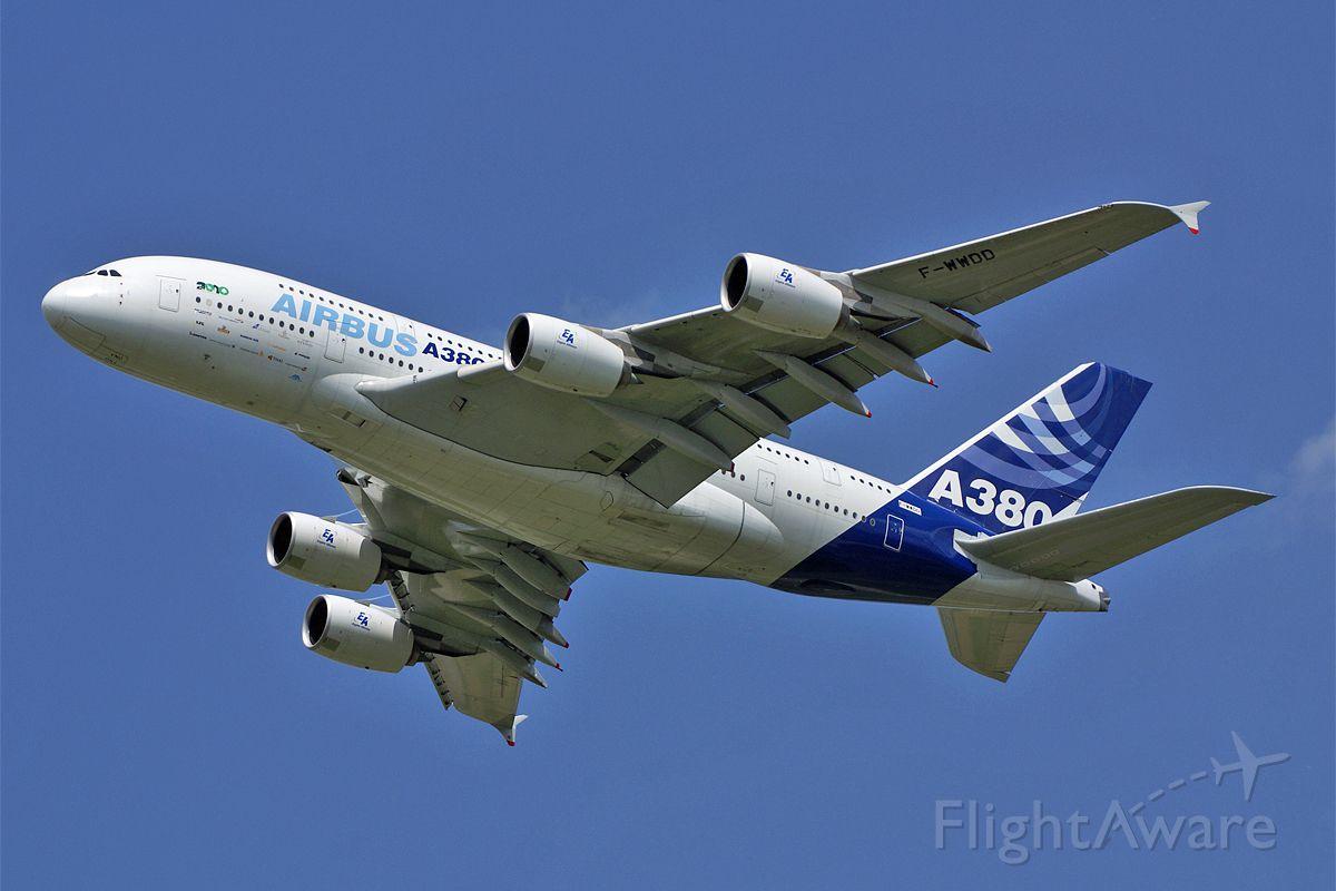 Airbus A380-800 (F-WWDD) - Airbus A380-861  Airbus Industrie  ILA 2010 Berlin Air Show  EDDB Berlin Schoenefeld Germany  11.June 2010