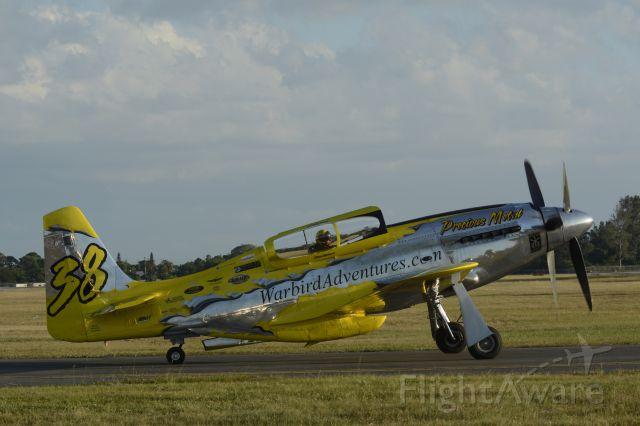 North American P-51 Mustang (N6WJ) - 2013 Stuart Air Show