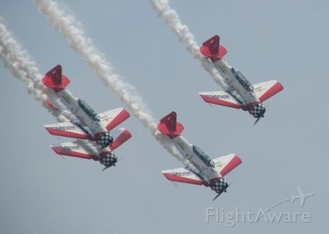 N7462C — - Aeroshell Team performing at Barksdale Air Force Base.