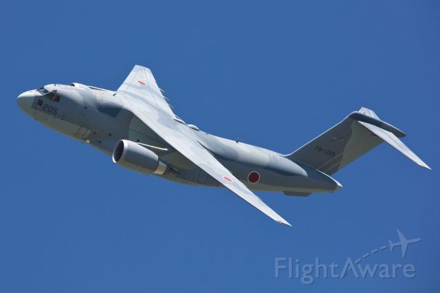 Grumman C-2 Greyhound (78-1205) - Japan Air Self-Defense Force C-2 demo flight at JASDF Miho Air Base Festival 2017