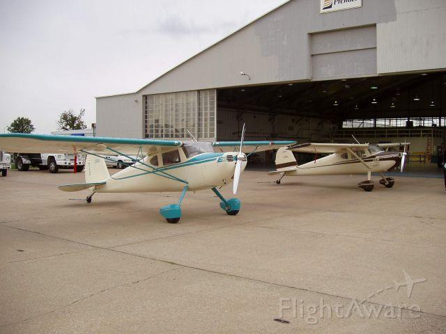 Cessna 140 (N140P) - 1950 CESSNA 140A SN 15350 N9629A  1947 CESSNA 140  N140P  CESSNA 120/140 INTERNATIONAL MEMBERS  ORVILLE J. WINOVER KTYR  & BOB PARKS  ALANTA, GEORGIA