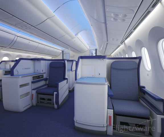 Boeing 787-8 —