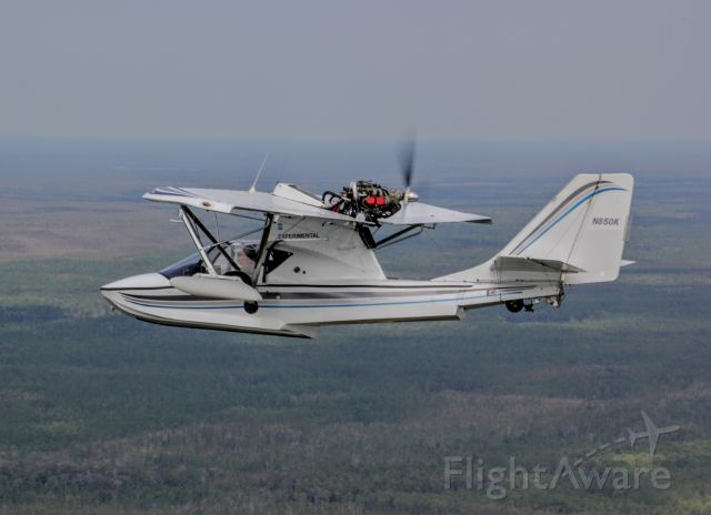 PROGRESSIVE AERODYNE SeaRey (N850K) - Sea Ray 2 ship flight to Tavares Seaplane Base yesterday (9-26).