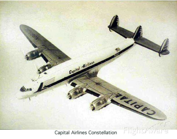N86581 — - Lockheed Constellation L-749