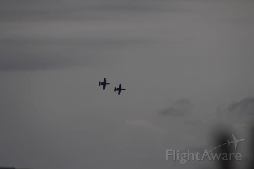 Fairchild-Republic Thunderbolt 2 — - From my porch in Shawnee, KS -- they were performing the fly over for the Nascar race at Kansas Motor Speedway in summer, 2015.