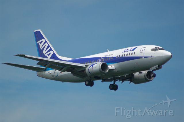 Boeing 737-500 (JA302K) - 2012-08-15