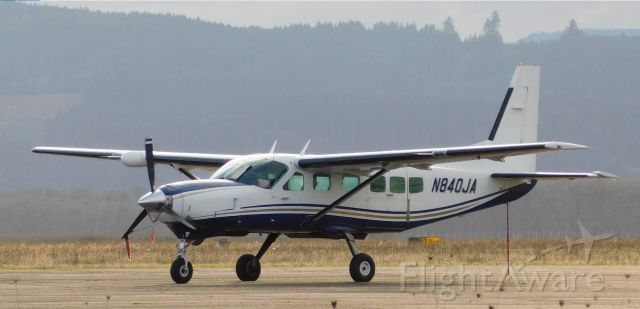 Cessna Caravan (N840JA) - N840JA at CVO 26th November 2020.