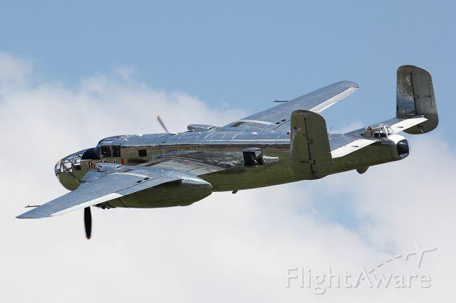North American TB-25 Mitchell (N6123C)