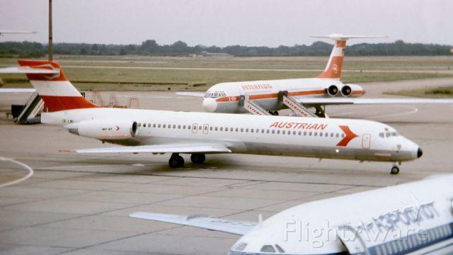 McDonnell Douglas MD-87 (OE-LMI) - in the 80s