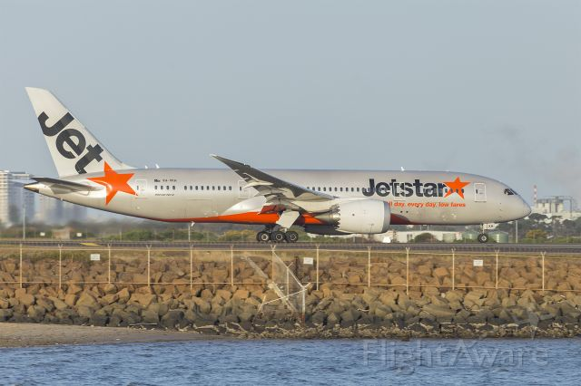 Boeing Dreamliner (Srs.8) (VH-VKH) - Jetstar Airways (VH-VKH) Boeing 787-8 Dreamliner at Sydney Airport.