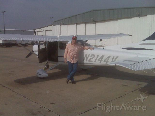 Cessna Skylane (N2144V) - Taken at the Aviation Capital of the World.  The Mecca of GA.  Wichita.  GA.