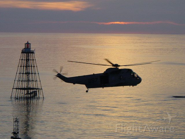Sikorsky S-76 (14-8965) - Sand Key Light outside Key West, FL