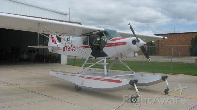 Piper L-21 Super Cub (N7949) - The Super Cub I flew in in August, 2013.