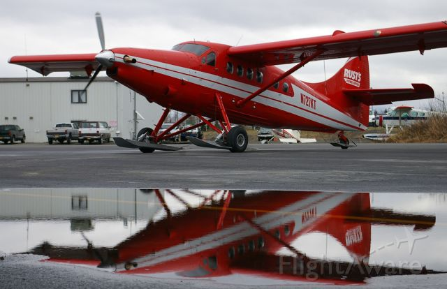 De Havilland Canada DHC-3 Otter (N727KT) - A Rust