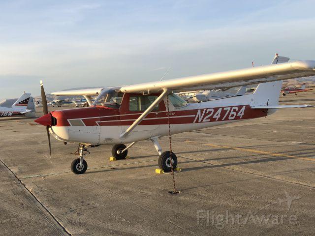 Cessna Commuter (N24764) - On the ramp at Hollister, CA (KCVH) Nov 19, 2017