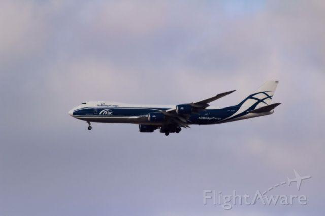 BOEING 747-8 (VQ-BRH) - Inbound from LAX -- ABW597