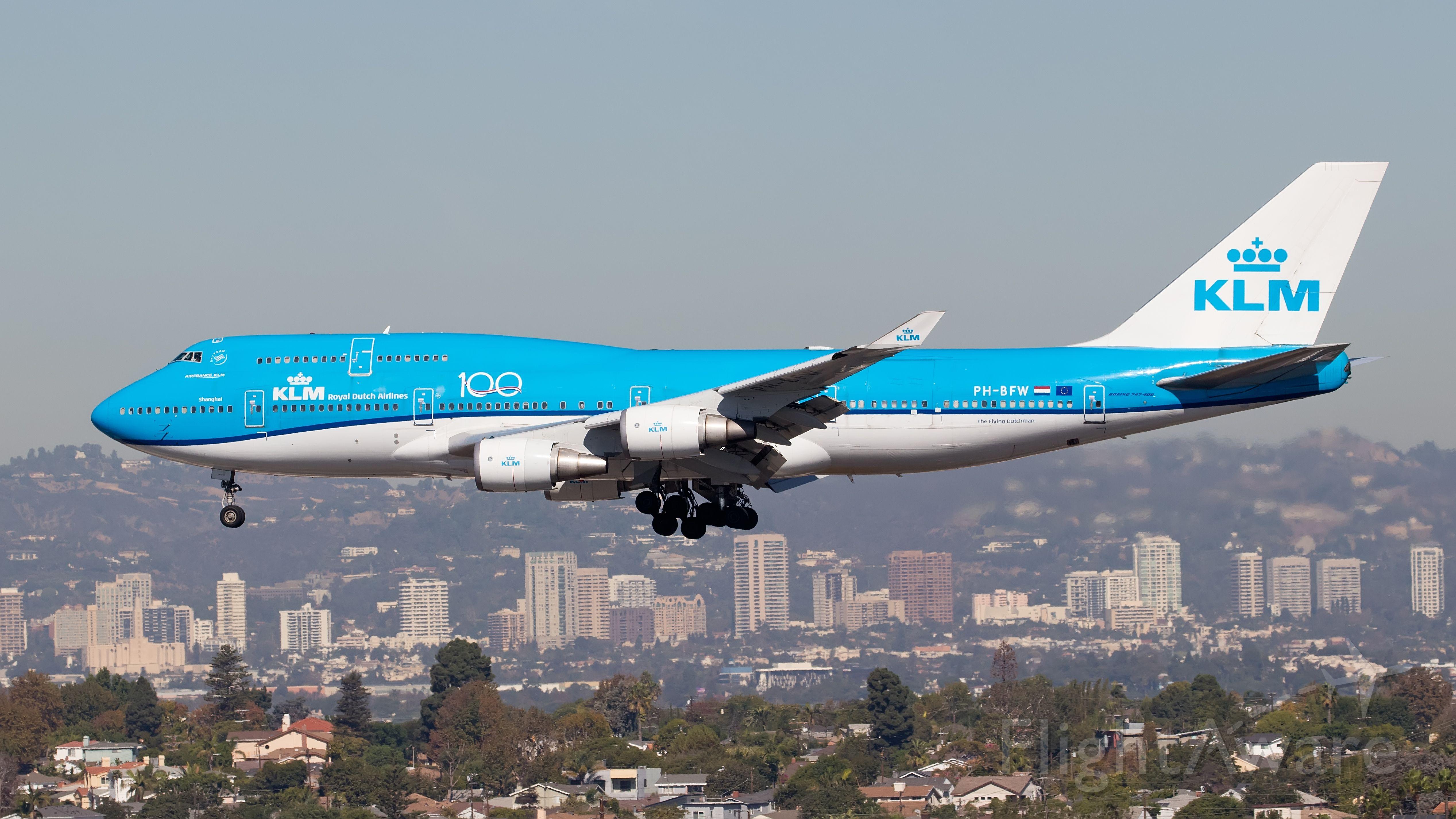Boeing 747-200 (PH-BFW)