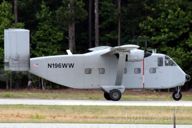 Short Skyvan (N196WW) - Photo taken on 6/14/2020.