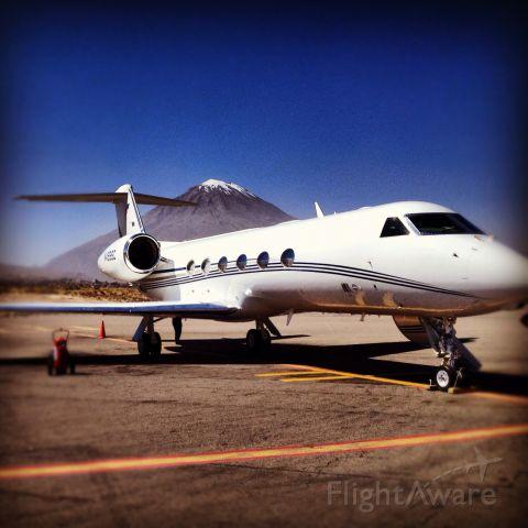 Gulfstream Aerospace Gulfstream IV (NU-NYA) - Mt Misty in the Background Arequipa Peru 2013