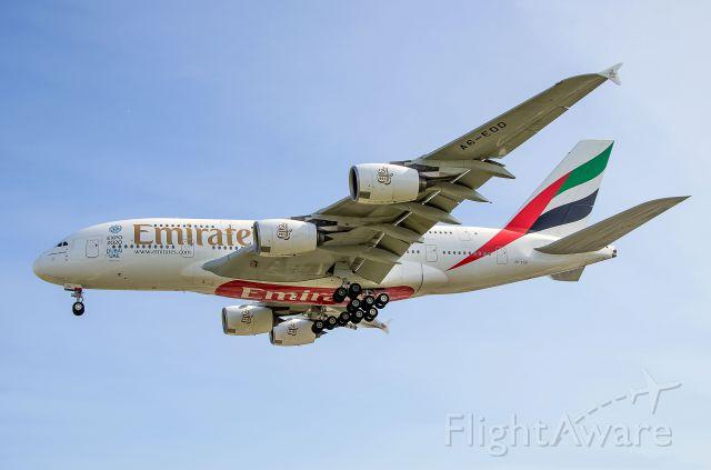 Airbus A380-800 (A6-EDD) - EK241 A380 A6-EDD