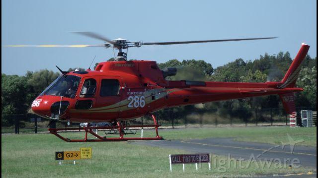 Eurocopter AS-350 AStar (VH-YJB)