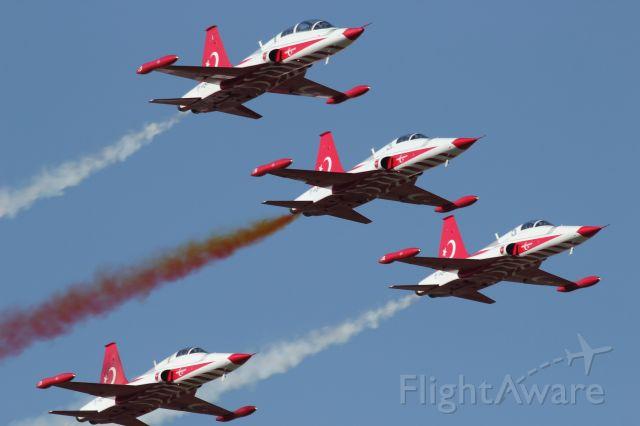 — — - 25 July 2015 The Turkish Stars aerobatic team