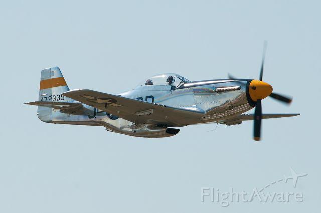 North American P-51 Mustang (N251JC) - The Brat III
