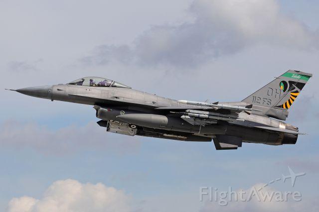 Lockheed F-16 Fighting Falcon (89-2112) - 89-2112 departing RWY 25 Saturday, 10 Jul 2021.