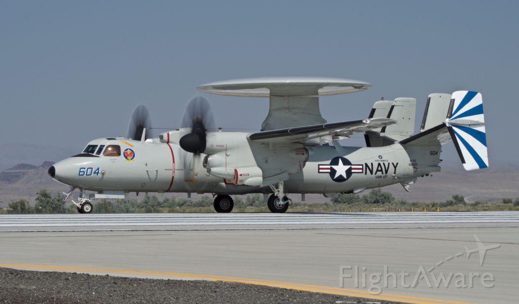 16-8600 — - A Norfolk Based VAW 121 E-2D Advanced Hawkeye begins its
