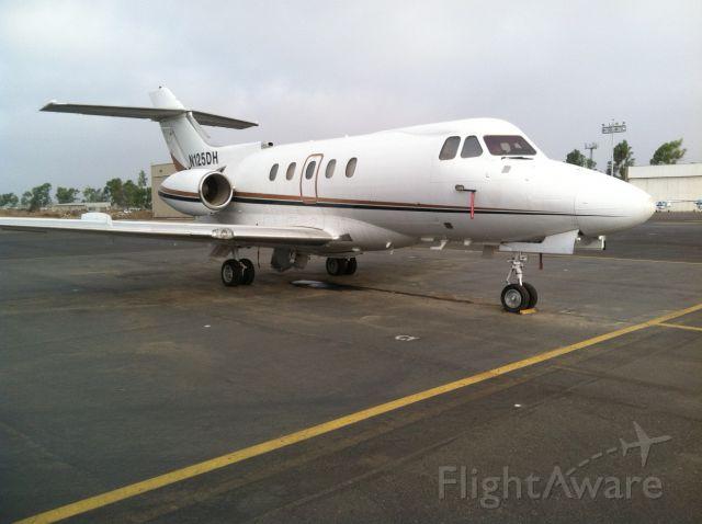 Hawker Siddeley HS-125-400 (N125DH) - September 18, 2012.