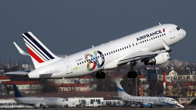 Airbus A320 (F-HEPG)