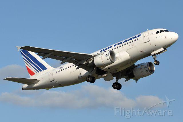 Airbus A319 (F-GRHX) - Airbus A319-111 Air France