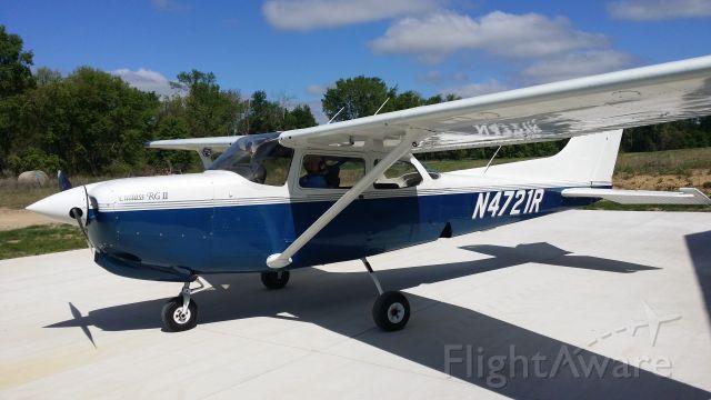 Cessna Cutlass RG (N4271R) - Shown on the ramp at Cloud 9 East (MI26) airport, Michigan.