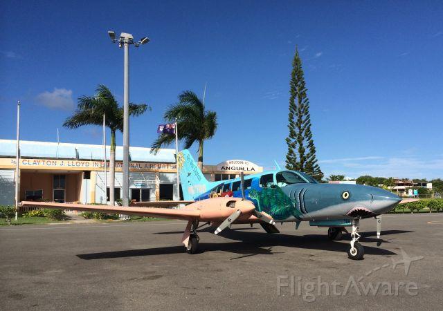 Cessna 402 (N67786) - 12/1/2013.