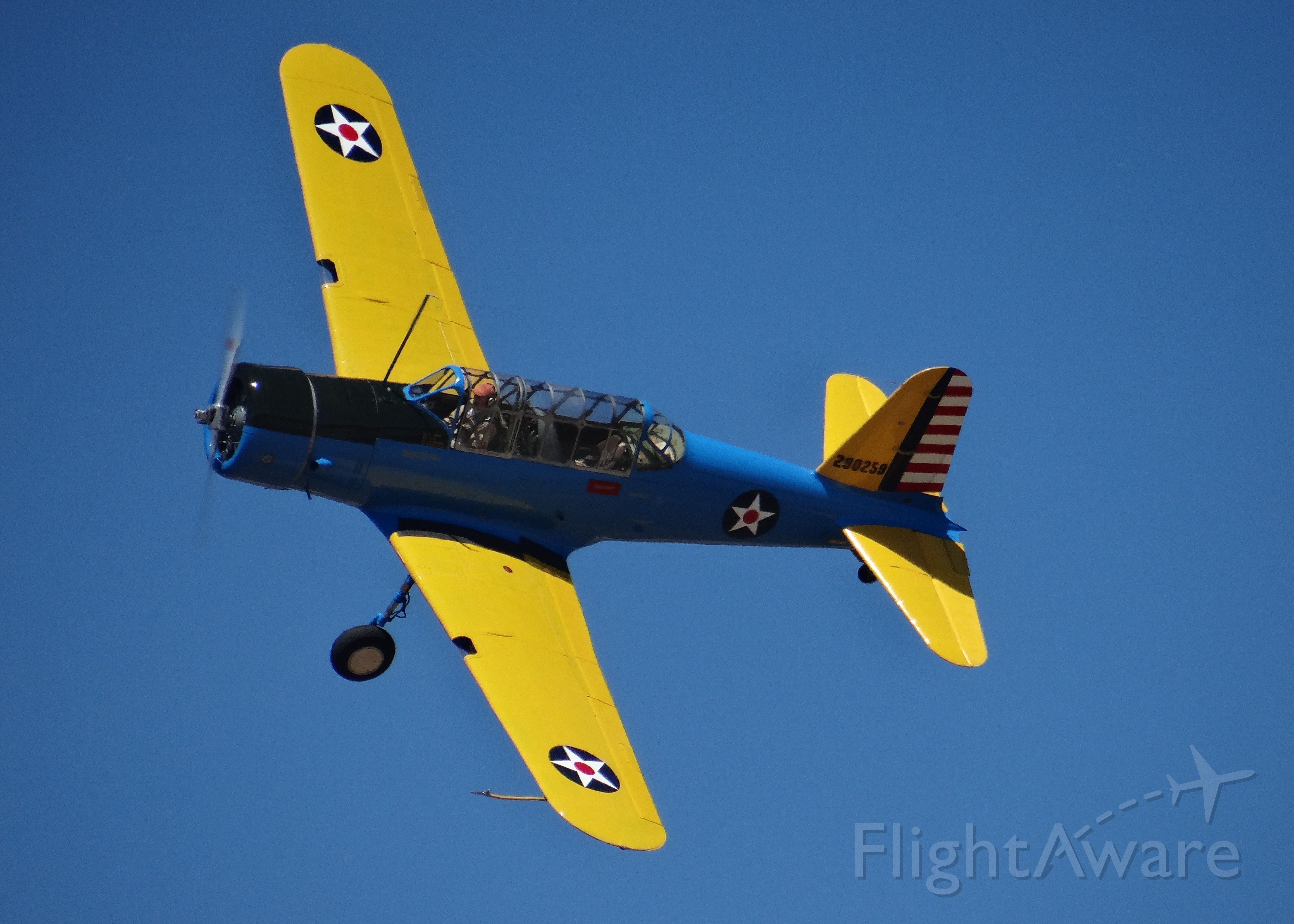 North American T-6 Texan (29-0259) - Nice warbird during the 2012 Watsonville Fly-In Air Show.