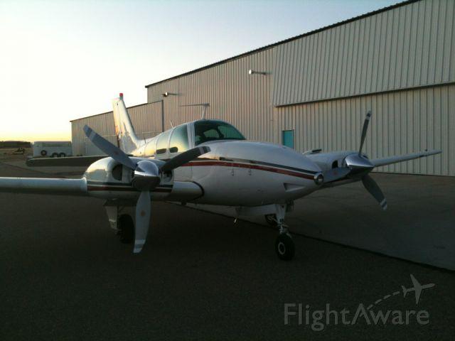 Beechcraft 55 Baron (N520T)