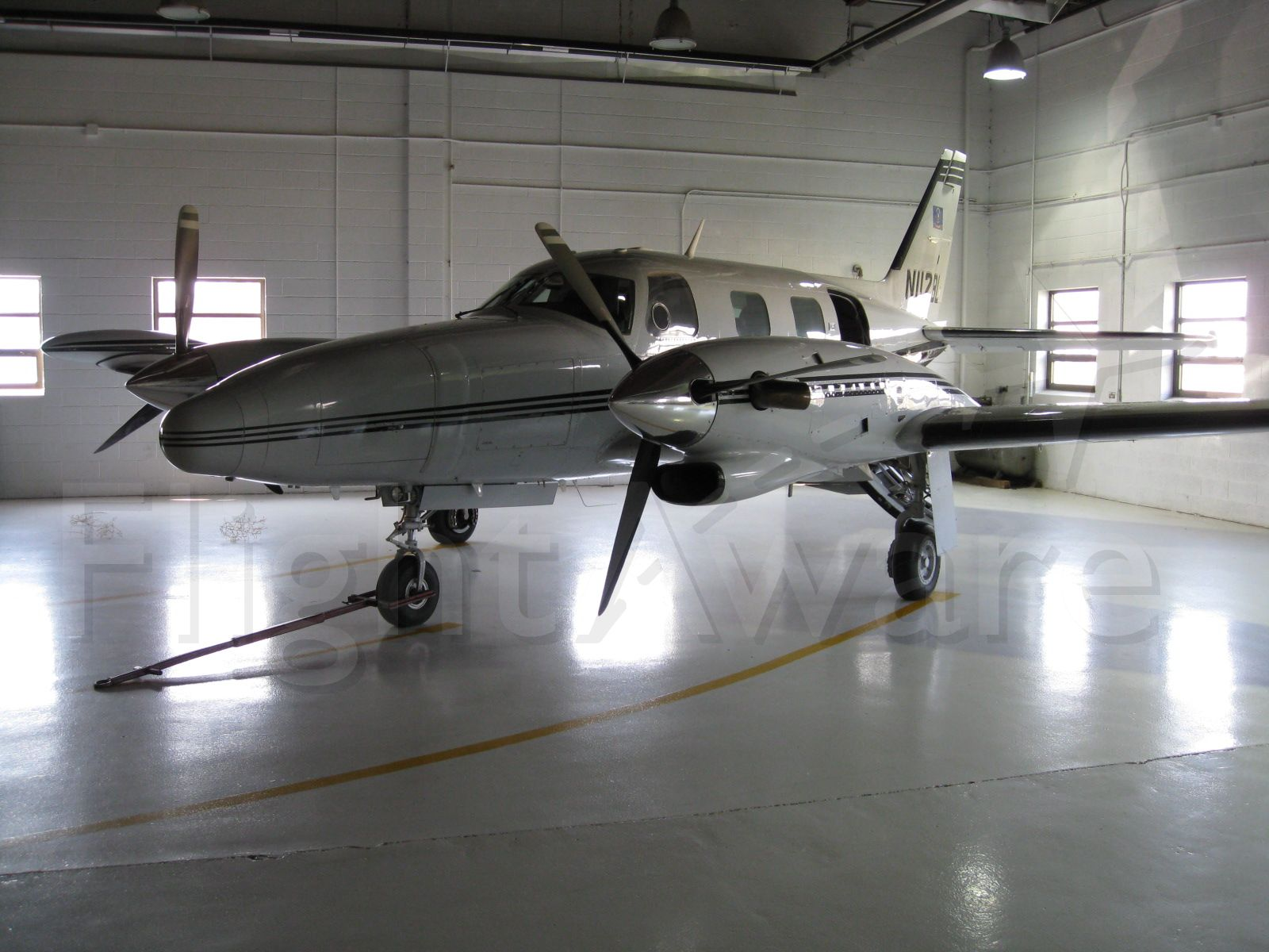 Piper Cheyenne 2 (N112BL) - This aircraft is flown by the North Dakota Department of Transportation.  It is used to transport DOT executives, DOT employees and sometimes the Governor of ND.