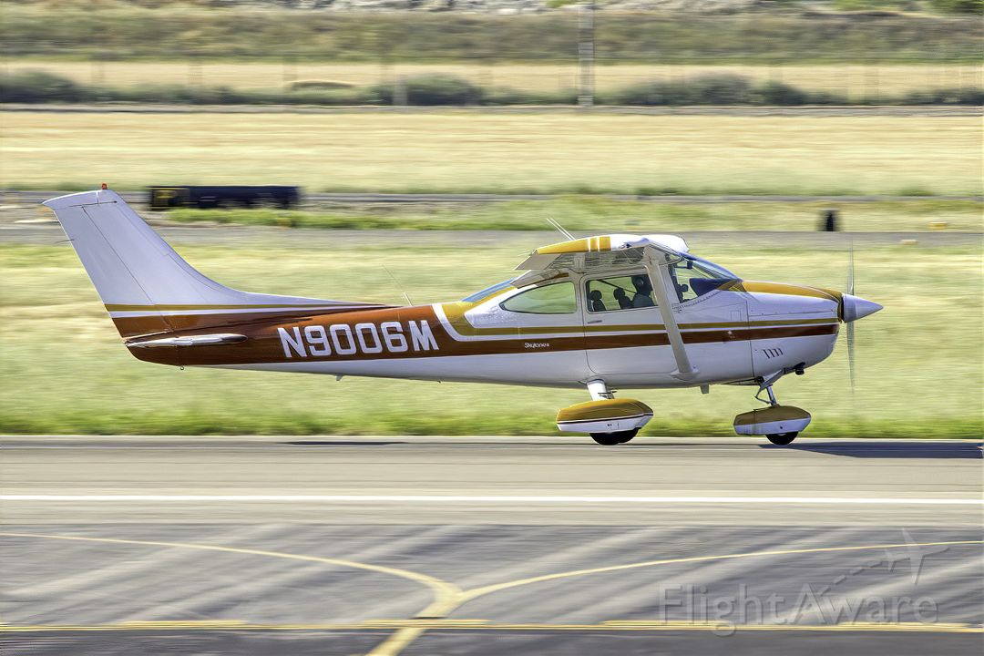 Cessna Skylane (N9006M) - Cessna 182P Skylane at Livermore Municipal Airport (CA). April 2021