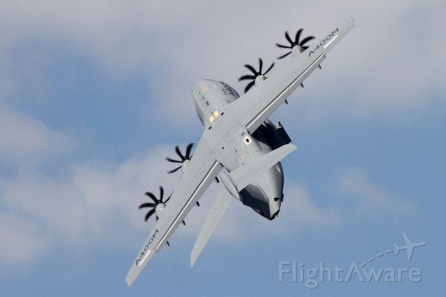 BOS406 — - Airbus A400M-180 en présentation au Bourget