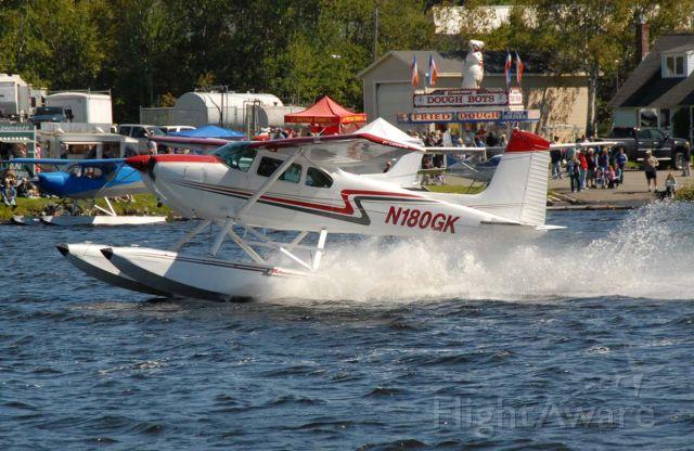 Cessna Skywagon 180 (N180GK) - Big wake.