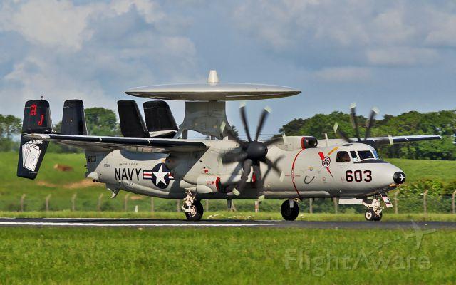 16-5295 — - usn e-2c hawkeye 165295 landing at shannon 5/6/14.