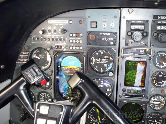Gulfstream Aerospace Jetprop Commander (N980GR) - IAS at FL 250