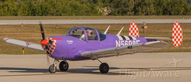 ERCO Ercoupe (N5698F) - Taxiing for take off on RWY 05